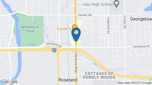 Ramada by Wyndham South Bend Map