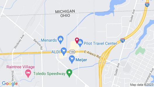 Hampton Inn & Suites Toledo-North Map
