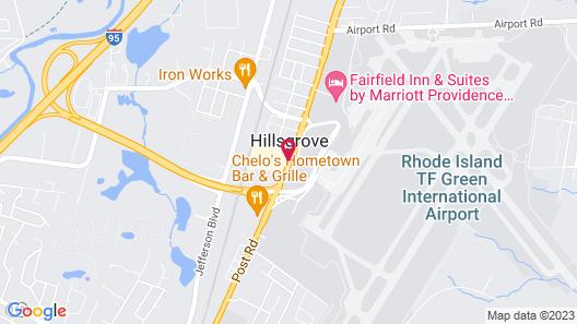 Hampton Inn & Suites Providence/Warwick-Airport Map