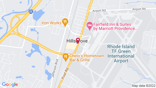 Radisson Hotel Providence Airport Map