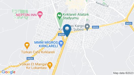 Kaya Palas Hotel Map
