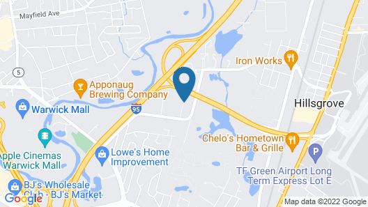 Homewood Suites by Hilton Providence/Warwick Map