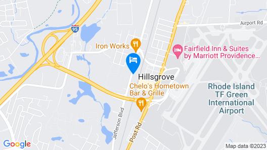 Hyatt Place Warwick / Providence Airport Map