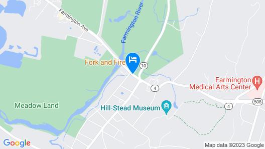 The Farmington Inn & Suites Map