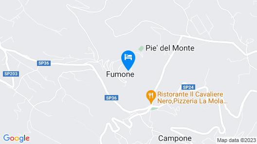 Residenza d'epoca & Spa Il Cerchio di Lullo Map
