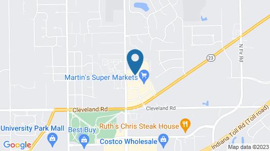 Holiday Inn Express & Suites Mishawaka - South Bend, an IHG Hotel Map