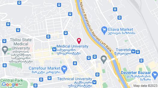 Super Luxury Apartments Map