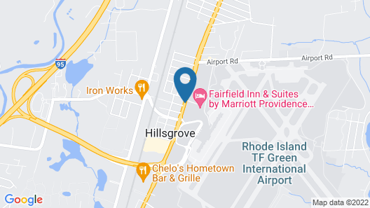 Fairfield by Marriott Inn & Suites Providence Airport Warwick Map