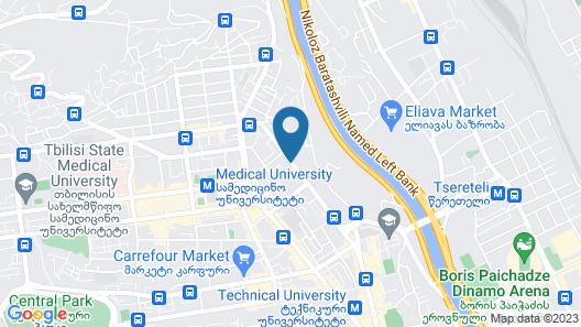 Maxela Apartments Map