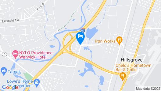 Sonesta ES Suites Providence - Airport Map