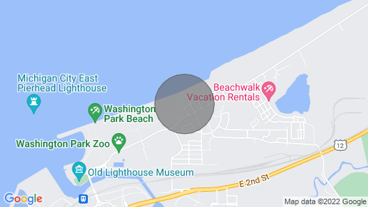 Beautiful Beach Cottage - 205 California Ave Map