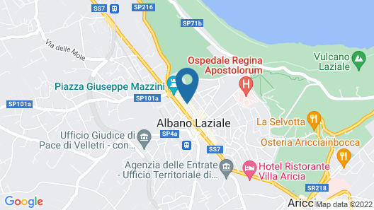 Apartment With 2 Bedrooms in Albano Laziale, With Wifi - 2 km From the Beach Map