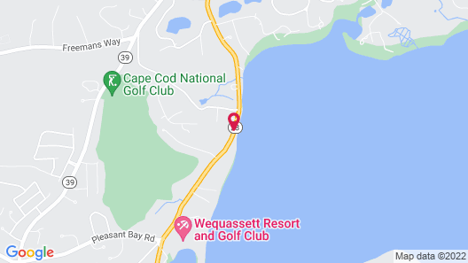 A Little Inn on Pleasant Bay Map