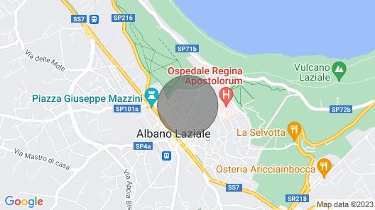 Ihastuttava huoneisto Albano Lazialen historiallisessa keskustassa Map