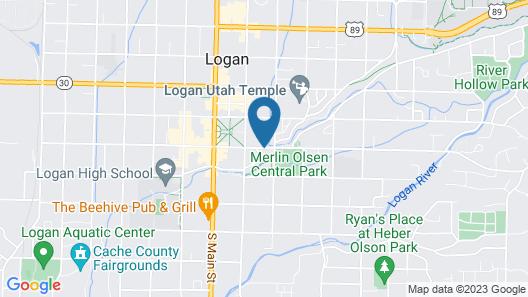 The Anniversary Inn Logan Map