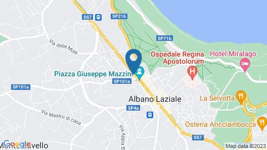 Villa Altieri Map