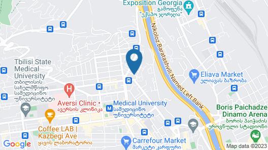 Tbilotel Map