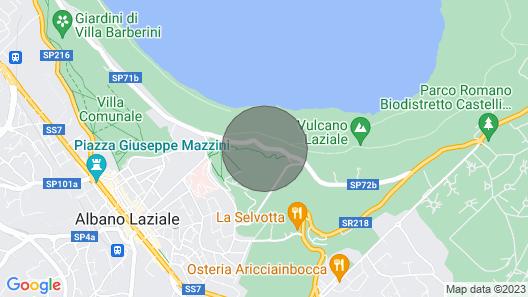 Luottamuksellisuus, hiljaisuus ja rentoutuminen kivenheiton päässä Roomasta Castelli Romani -puistossa Map