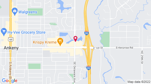 Fairfield Inn and Suites by Marriott Des Moines Ankeny Map