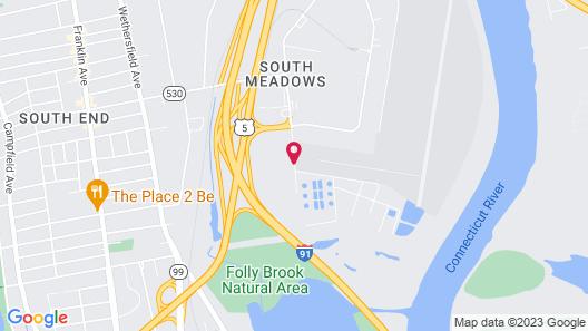 Days Inn by Wyndham Hartford/Closest Downtown Map