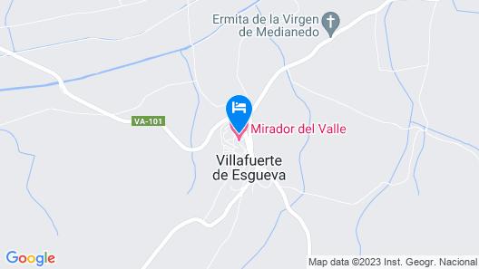 Casas Rurales Mirador del Valle Map