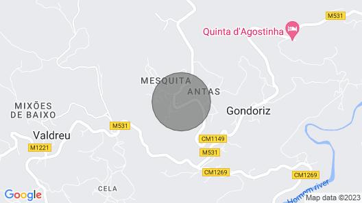 Gondoriz House - Terras de Bouro @ Gerês Map