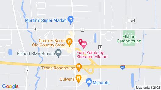 Staybridge Suites Elkhart, an IHG Hotel Map