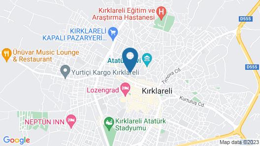 Vanilya Butik Otel Map