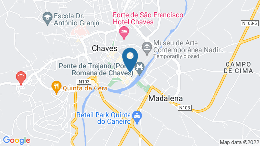 ibis Styles chaves Map