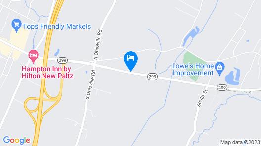 Rodeway Inn & Suites New Paltz - Hudson Valley Map