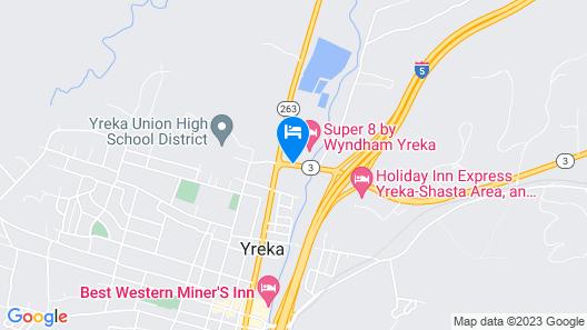 Super 8 by Wyndham Yreka Map