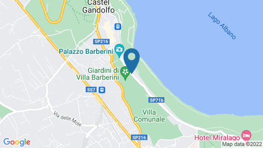 Hotel Castel Vecchio Map