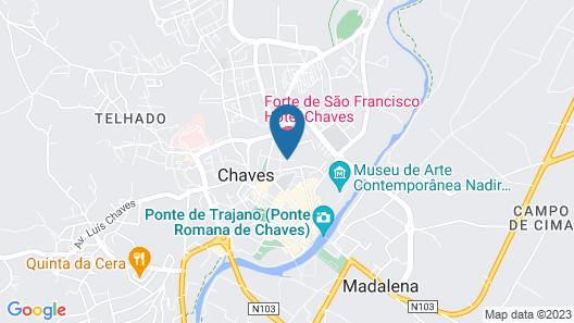 Forte de São Francisco Hotel Map
