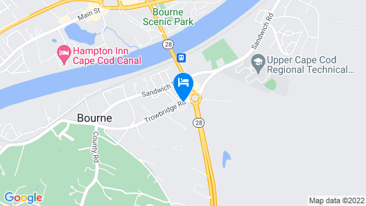 All Seasons Inn and Suites Map