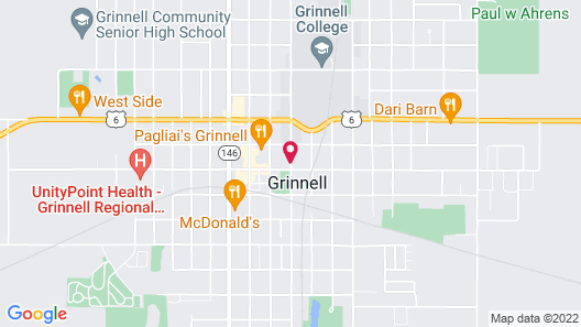 Hotel Grinnell Map