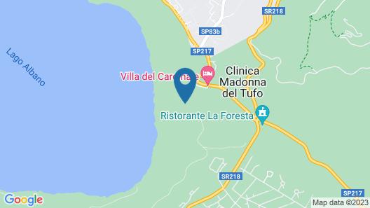 Villa Palazzola Map
