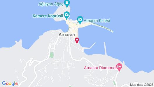 Kum Butik Otel Map
