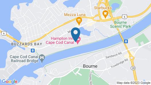 Hampton Inn Cape Cod Canal Map