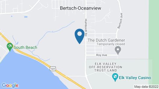 Close to Smith River, Jedediah State Park, and Miles of Ocean Beaches. Map