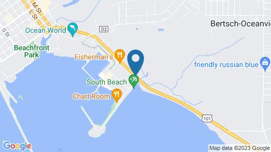 Anchor Beach Inn Map
