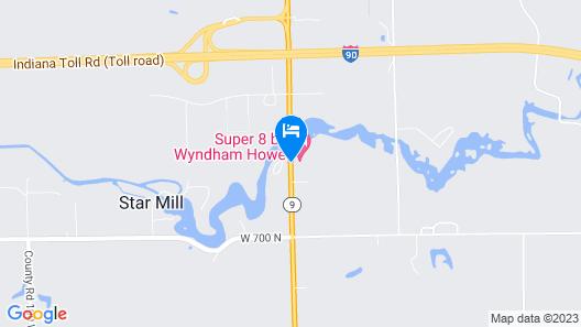 Super 8 by Wyndham Howe Map