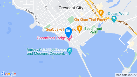 Oceanfront Lodge Map