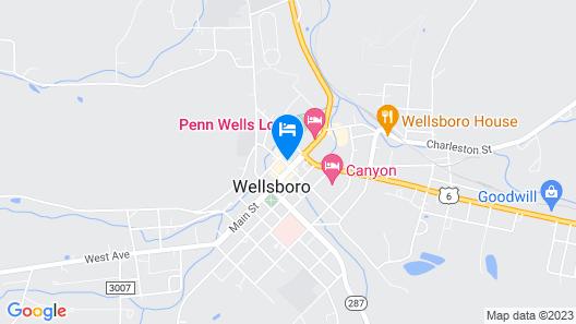 Penn Wells Lodge Map