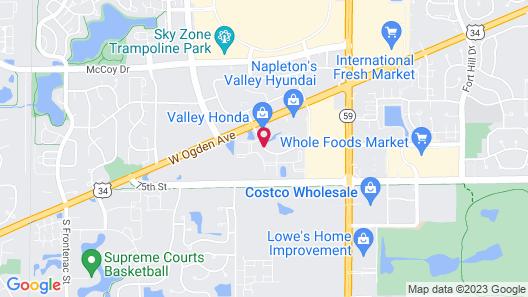 Super 8 by Wyndham Aurora/Naperville Area Map