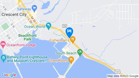 Lighthouse Inn Map