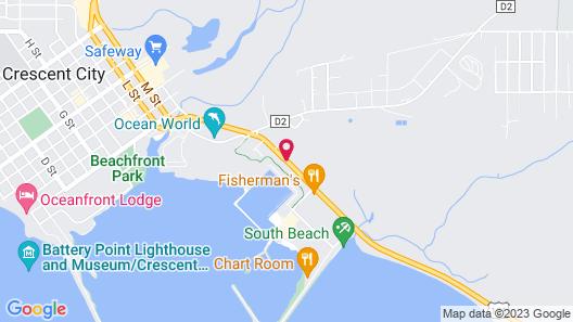 Best Western Plus Northwoods Inn Map