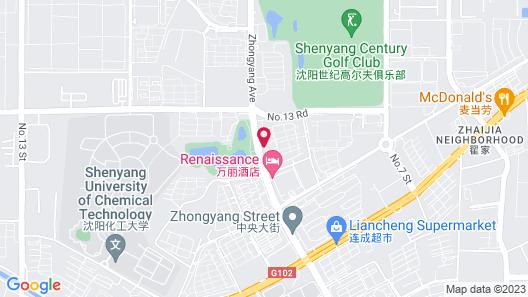 Renaissance Shenyang West Hotel Map