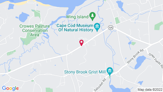 Brewster by the Sea Inn Map