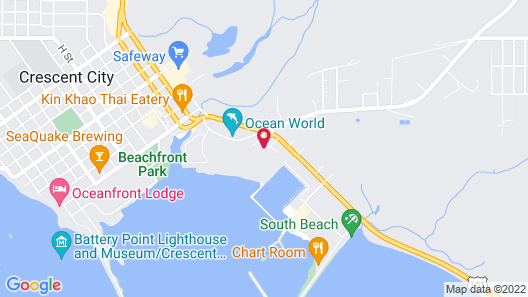 Quality Inn & Suites Crescent City Redwood Coast Map