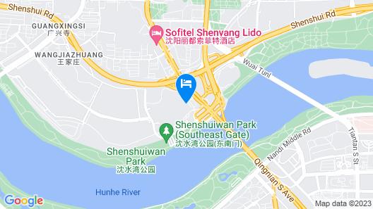 KHOS Shenyang Map